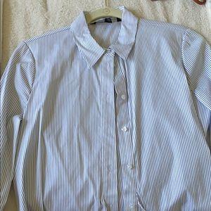 white house black market button down dress shirt